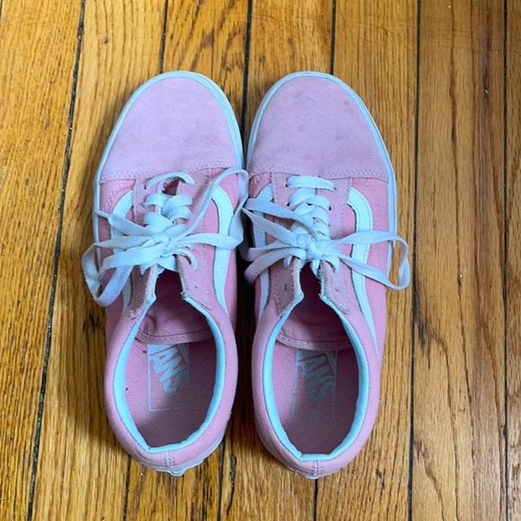 Pink Old Skool Vans Size 6.5